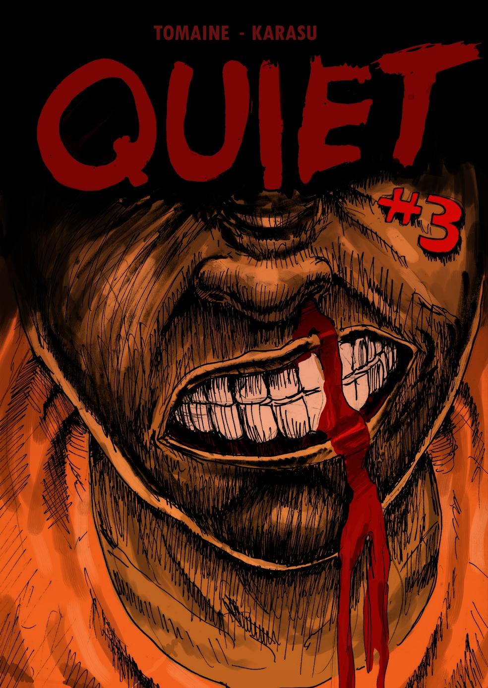 Quiet#3Cover