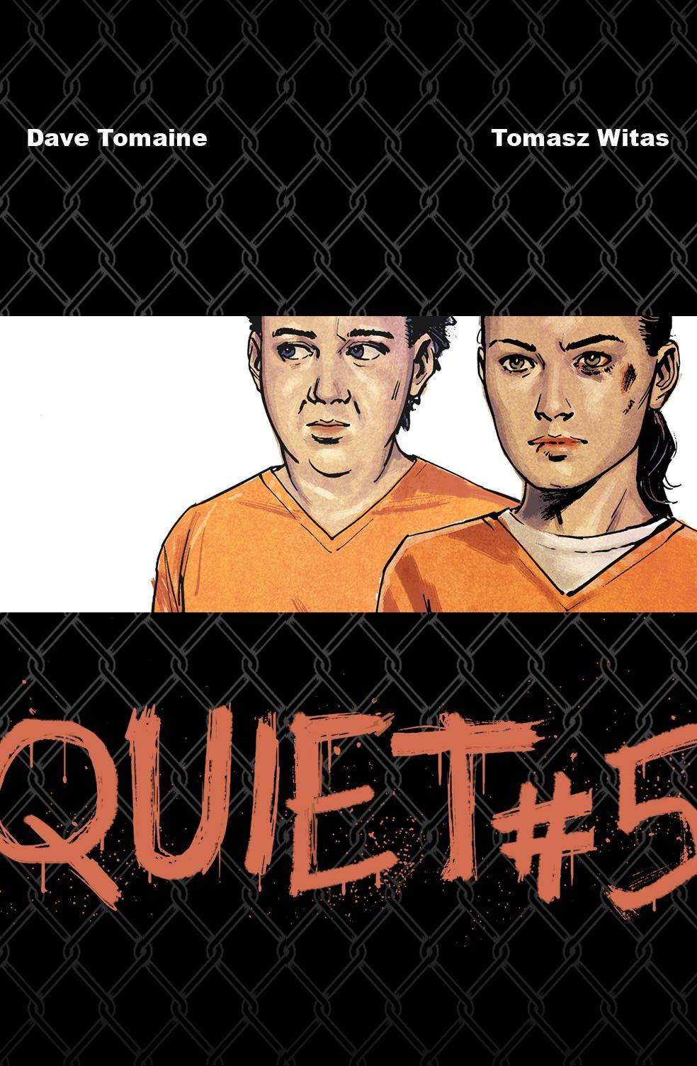Quiet #5 COVER